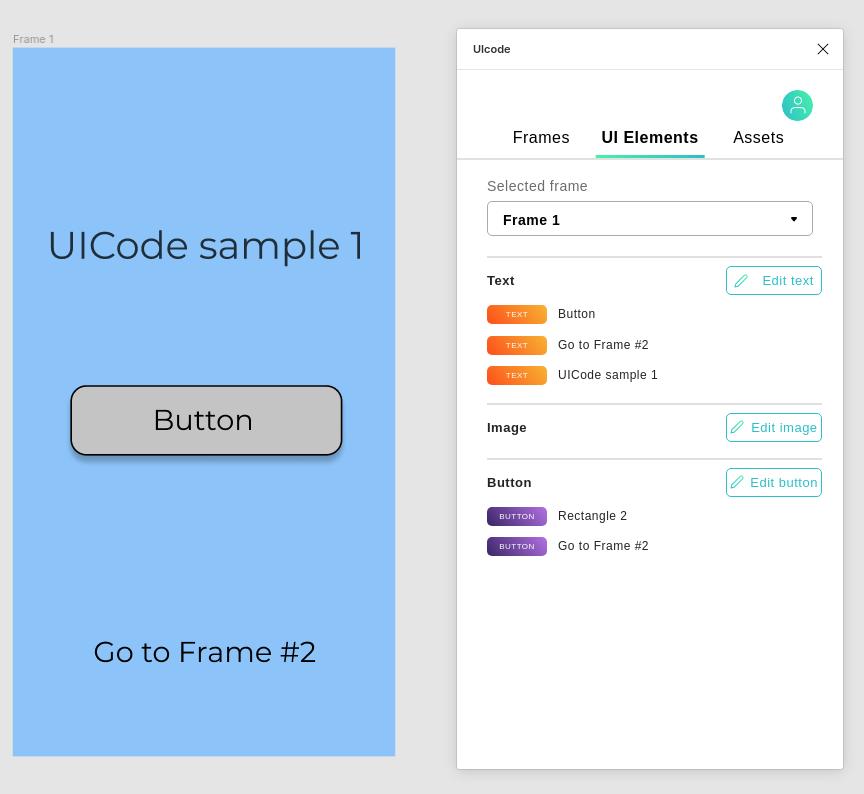 UICode low-code beállítások
